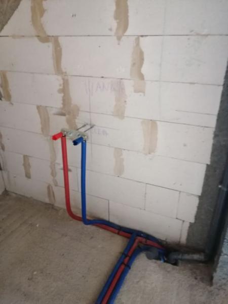 montaż ogrzewania podłogowego 1